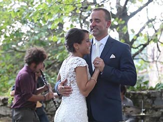 Tuscany wedding videographer