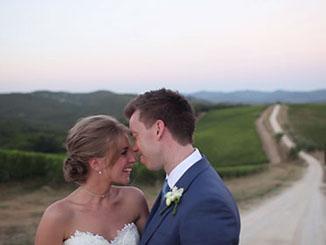 Tuscany wedding videography