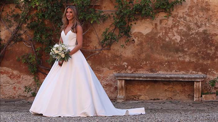 Villa Catignano wedding video in Siena - Villa Catignano Siena Italy videographer