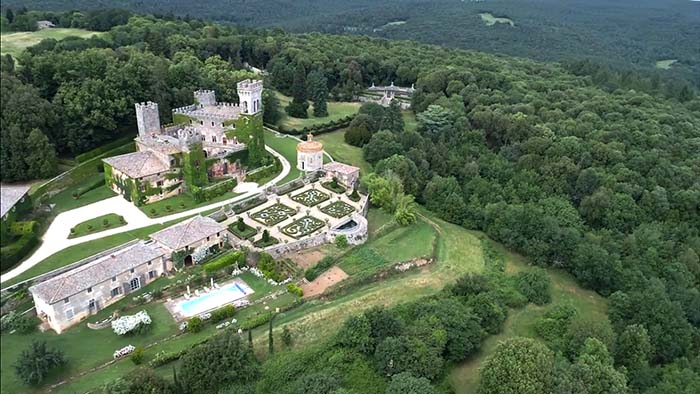 Castello di Celsa wedding video