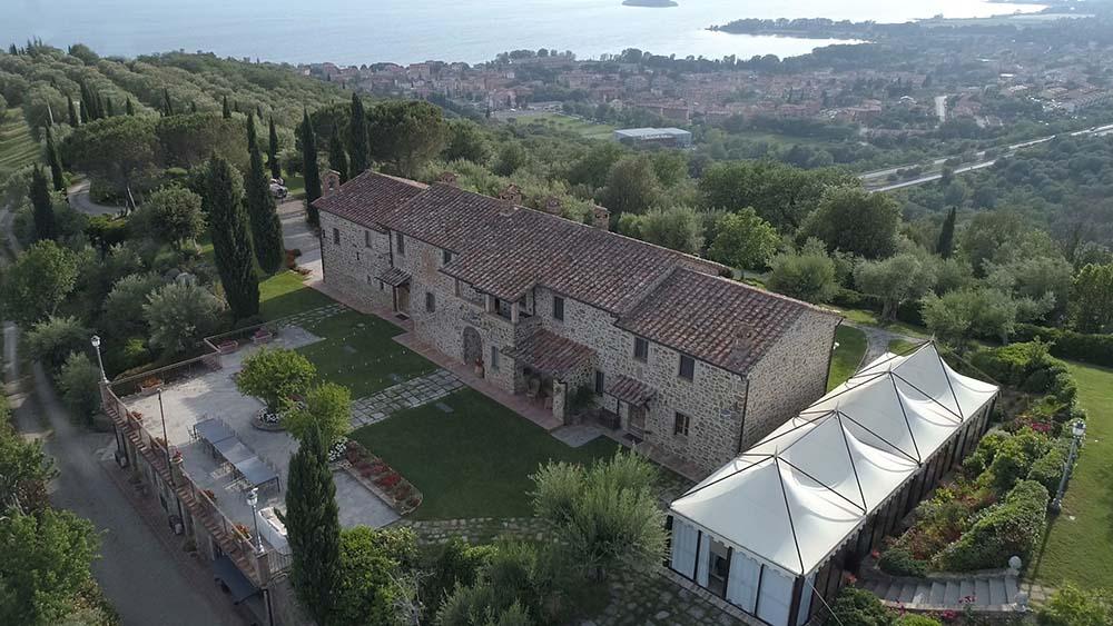 Villa San Crispolto wedding video lake Trasimeno