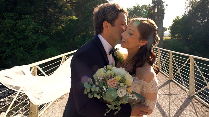 Agriturismo I Cedri wedding video in the Lucca countryside, Tuscany, Italy