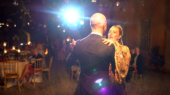 Villa Catignano Siena, the wedding first dance