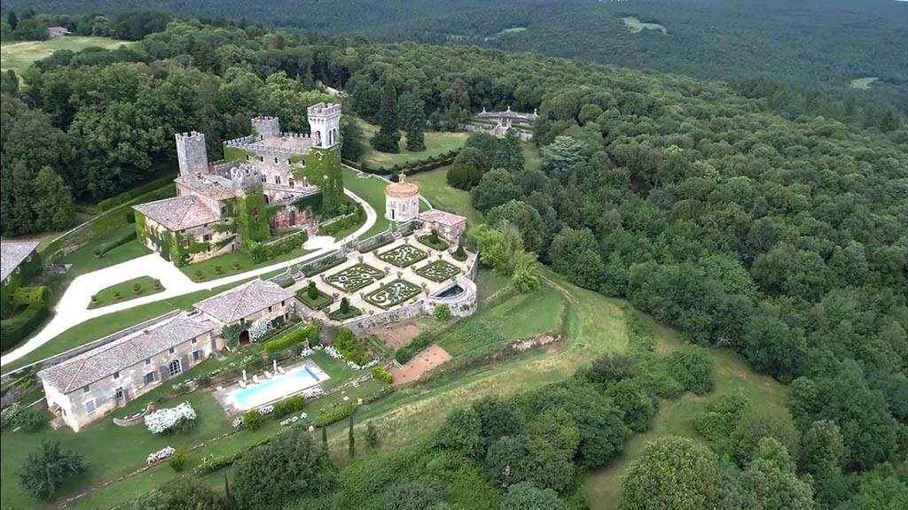 Castello di Celsa wedding video - Castle wedding video in Tuscany, Italy