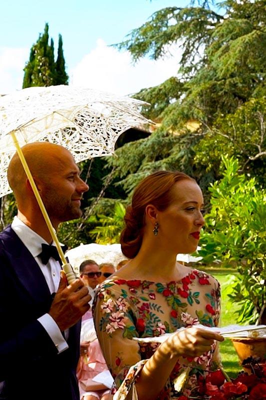 Italian wedding videographers by Tiziana Billi, videographer, filmmaker, Tuscany, Italy.