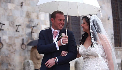 Wedding videographer Tuscany feat img
